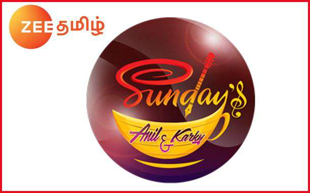 07-01-2017 – Sundays With Anil & Karky - Zee Tamil Show