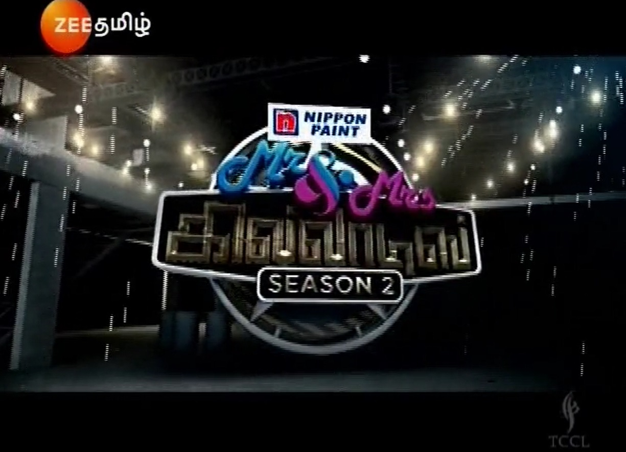 16-09-2018–Mr and Mrs Khiladis 02-Zee Tamil Show